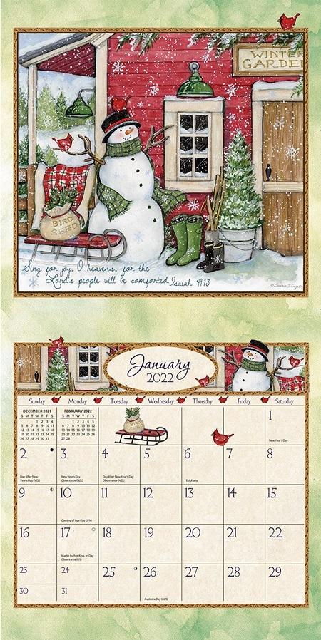 Bountiful Blessings 2022_3 Lang Mini Kalender