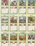 Bountiful Blessings 2022_5 Lang Mini Kalender