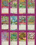 Color my World 2022_5 Lang Mini Kalender