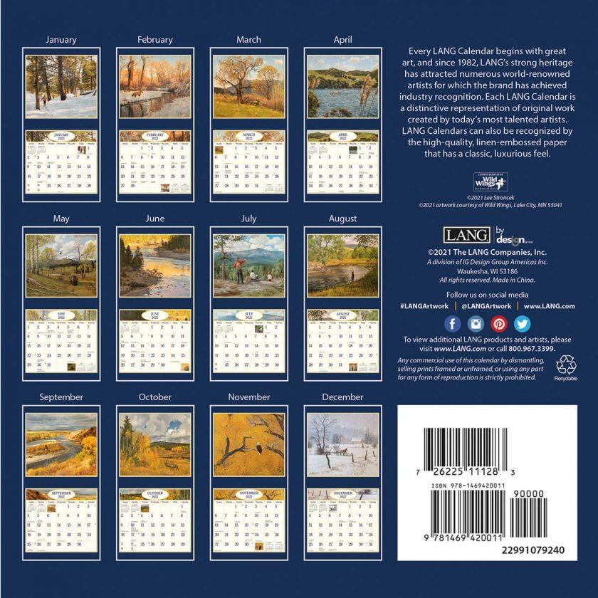 Four Seasons 2022_1 Lang Mini Kalender