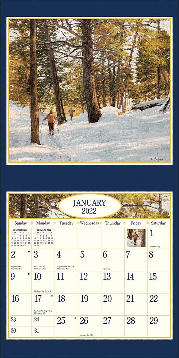 Four Seasons 2022_3 Lang Mini Kalender
