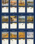 Four Seasons 2022_5 Lang Mini Kalender