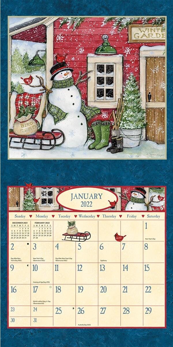 Heart & Home 2022_3 Lang Mini Kalender