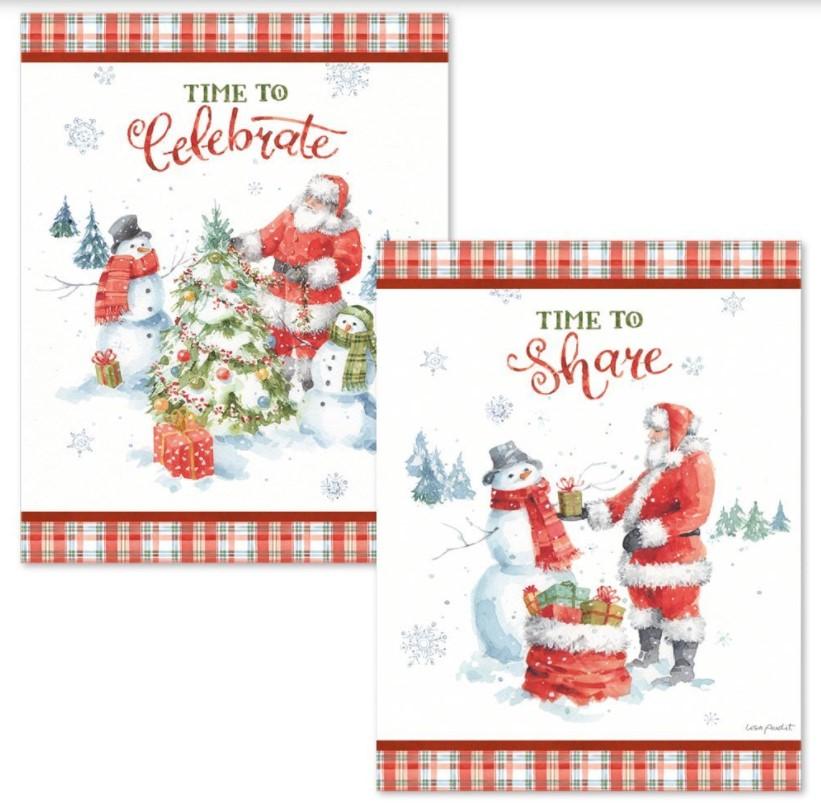 Christmas Time Lang Assorted Christmas Cards Box
