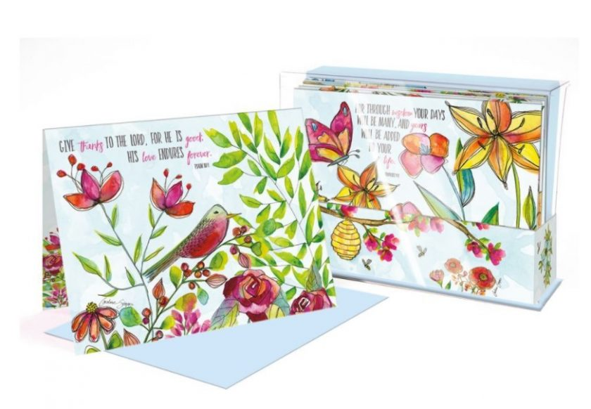 Multiple Blessings Lang Note Cards Box Assorted