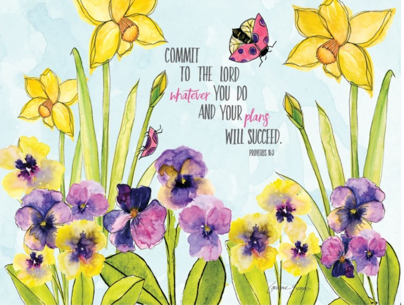 Multiple Blessings Lang Note Cards Box Assorted_3