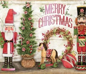 Nutcrackers Lang Christmas Box Cards