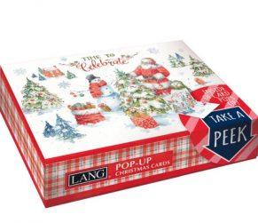 Santa Welcome Christmas Box Popup Cards
