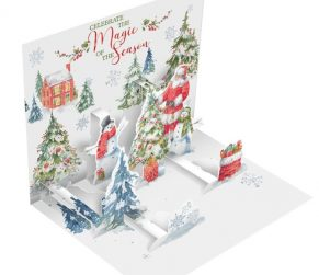 Santa Welcome Christmas Box Popup Cards_1